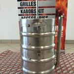 WeBBQ Beer Keg Smoker
