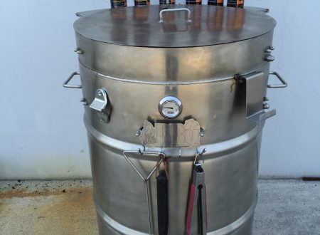 WeBBQ Pit Barrel Smoker (UGLY DRUM SMOKER)