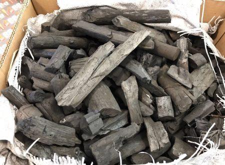 Carbone Made in Italy realizzato da veri carbonai