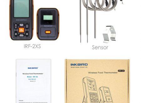 WeBBQ – Manuale in italiano termometro Inkbird IRF-2S