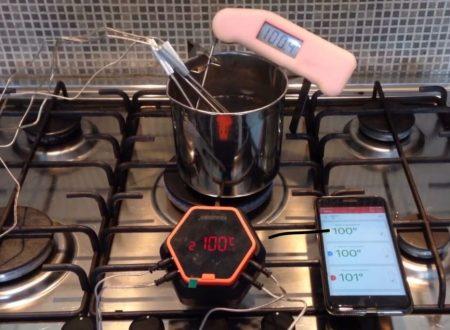 Test sonde termometro