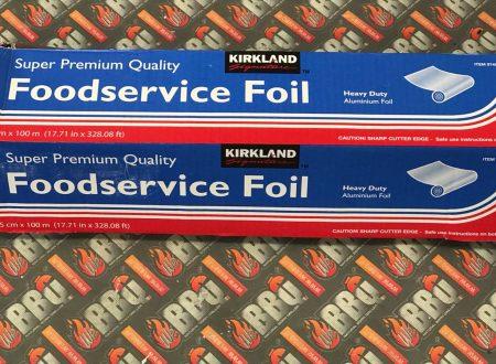 WeBBQ – Kirkland alluminio per foil BBQ