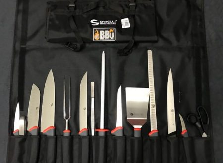 WeBBQ – Set coltelli Sanelli Ambrogio TECNA 15 pz.