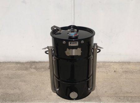 WeBBQ – BLACK ACE (Pit Barrel Cooker Mod. )